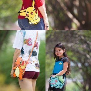 Danielle Nicole Pokémon Pikachu + More 3 Bags NWT